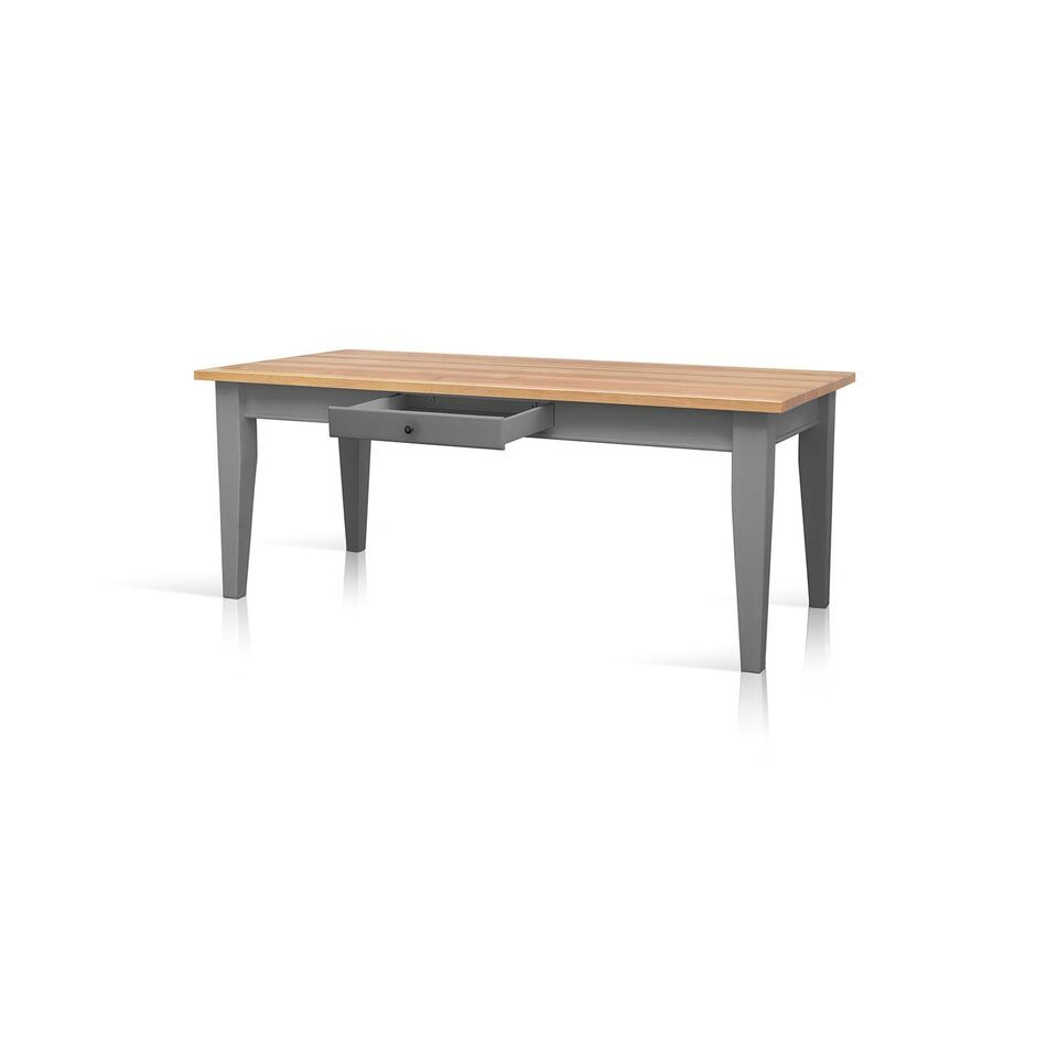 Mottisfont Country 6ft x 3ft Painted Pine Tapered Leg  : mottisfont country 6ft x 3ft painted pine tapered leg farmhouse dining table grey 2 62752 p from www.uniquechicfurniture.co.uk size 960 x 960 jpeg 25kB